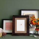 Hackle Hopper framed and arranged in situ