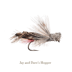 Jay and Dave's Hopper, original watercolour painted by L.C. Smith