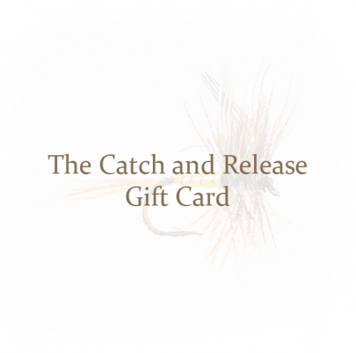 Catch and release gift card